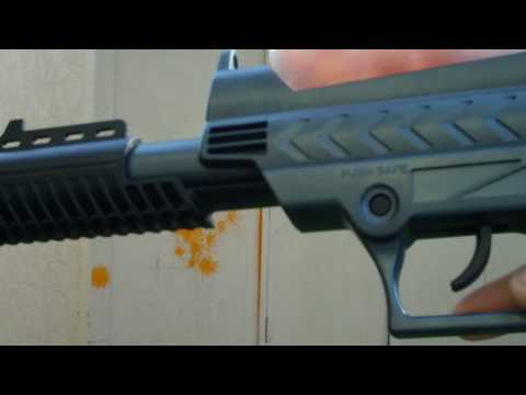 $20 Brass Eagle Raptor Pump-Action Paintball Gun Review and Shooting from Wal-Mart
