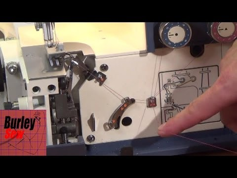 How to Thread the White Superlock 534 Serger- Serger Machine Series Ep. 2
