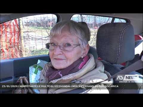 23/01/2020 | NONOSTANTE LE MULTE GLI ECOVANDALI NON SI FERMANO, NUOVA DISCARICA