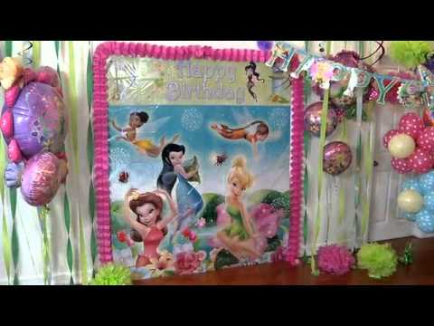 Throw Very Magical Fairy Party with Tinker Bell!