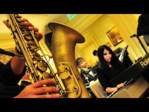 wedding jazz band - When A Man Loves A Woman (Blues Music) Wedding Jazz Band With Saxophone: Deans Live Music@The Peninsula Hong Kong (半島酒店) 20111028 Pianist: Ms. Carmen Ip Saxo...