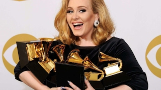 10 most Grammy awarded artists of all-time