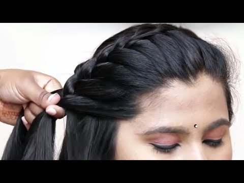 Hairstyles for long hair - Beautiful Unique Hairstyle for Long Hair  Everyday Easy Hairstyles  Hair style girl