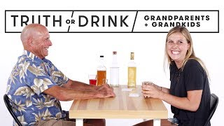 Video Grandparents & Grandkids Play Truth or Drink | Truth or Drink | Cut MP3, 3GP, MP4, WEBM, AVI, FLV Mei 2019