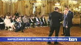 TG1 Napolitano e gli alfieri della Repubblica - Manuel De March
