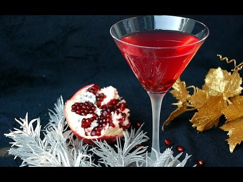 aperitivo - cocktail al melograno