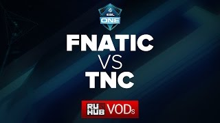 Fnatic vs TnC, game 3