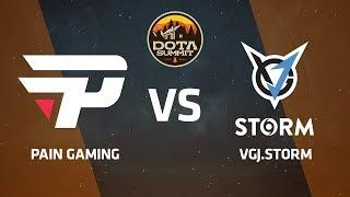 Pain Gaming против VGJ.Storm, Первая карта, DOTA Summit 9 LAN-Final