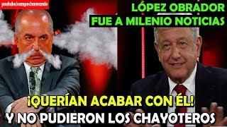 Carlos Marín intentó Acabar con López Obrador en Milenio Noticias – Campechaneando