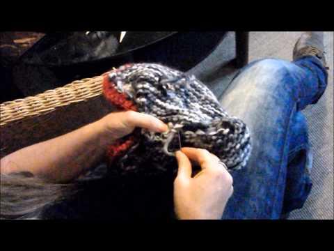 am besten @Hausschuhe@ stricken und verfilzen,filzen,Trachtenstyl, aus 100% Filzwolle Part 2/2 2014