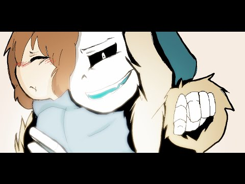 Just Give up  Sans x Frisk