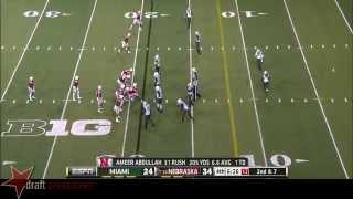 Ameer Abdullah vs Miami (2014)