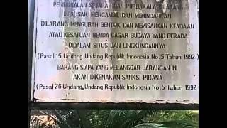 Pamplet dikawasan kuburan panglima polem
