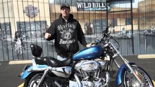9. 2005 Harley-Davidson Sportster 1200 Custom