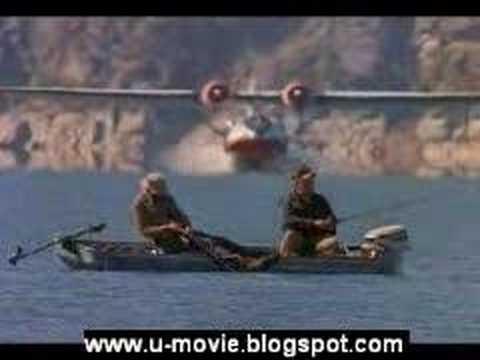 Fisherman And AirPlane