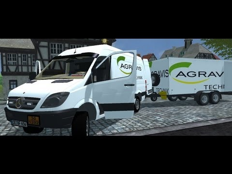 Sprinter and trailer v2.0 MR