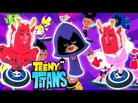 TEENY TITANS Teen Titans Go Figure Collecting Game Play with Cassi from Epic Toy Channel