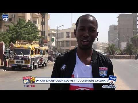 Allez l'OL ! #OLFCB | DSC et les supporters lyonnais du Sénégal