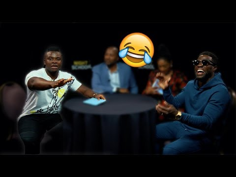 Kevin Hart Vs Michael Dapaah - Uk Vs Usa Slang Challenge Ft. Tiffany Haddish