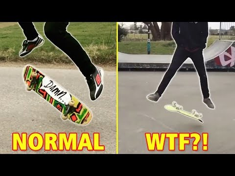 Most Effortless Skateboard Tricks
