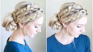 Mixed Braid Bun | Cute Girls Hairstyles by Cute Girls Hairstyles