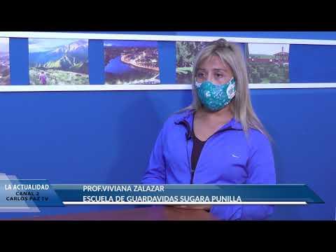 GUARDAVIDAS HABILITADOS: NOTA A VIVIANA ZALAZAR, ESCUELA DE GUARDAVIDAS SUGARA