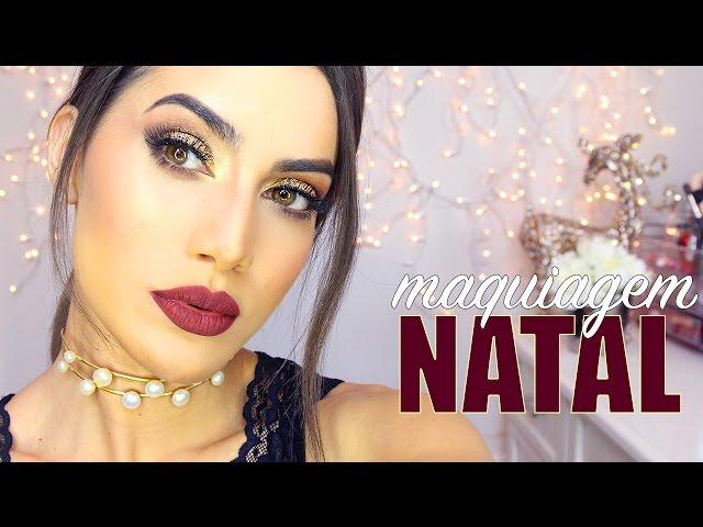 Maquiagem Natal Glam Chic 2016 - Super Vaidosa