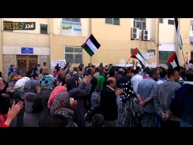 تقرير على قناة فجر بريس حول مسيرة كسر الحصار ورفض التجويع في مخيم اليرموك بدمشق