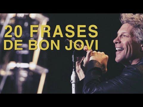 Poemas cortos - 20 Frases de Bon Jovi  La cara más humana del Rock
