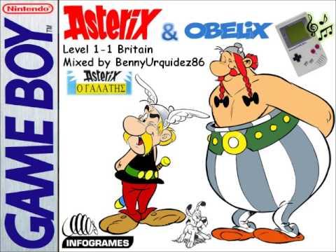 asterix et obelix game boy advance