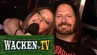 Exodus - Interview at Wacken Open Air 2008