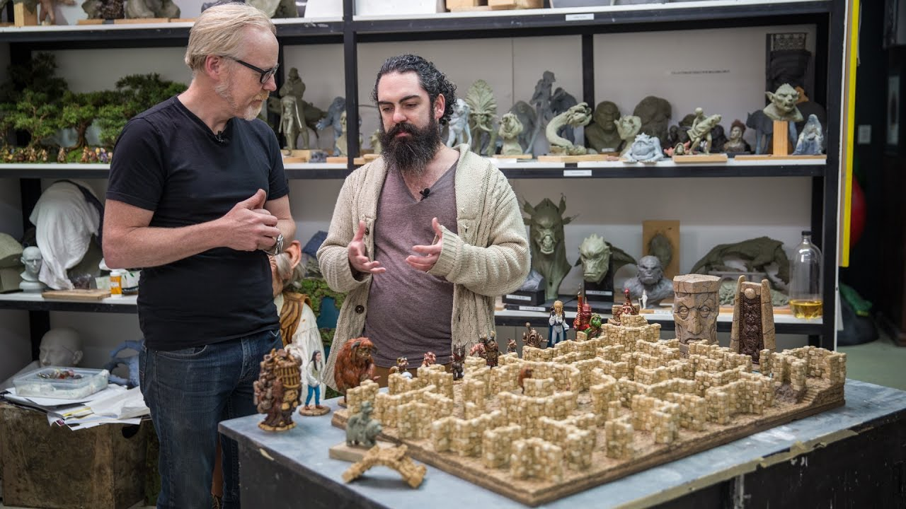 Adam Savage Left Speechless By Weta Workshop's Labyrinth Replica. Oh, It's Also A Playable Board Game