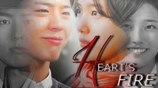 Video heart's fire. | Park Bo Gum & Suzy [crossover] MP3, 3GP, MP4, WEBM, AVI, FLV April 2018