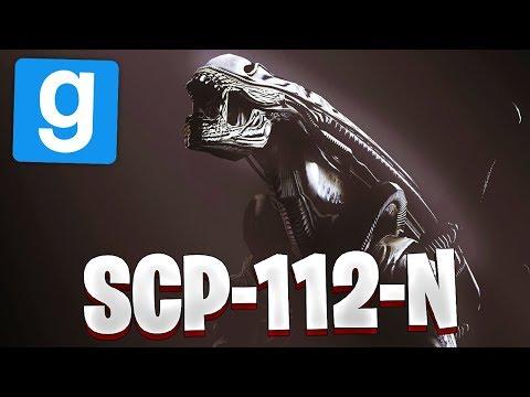 Garrys Mod - SCP RP // SCP-112-N LE XÉNOMORPHE ! - Garry's Mod