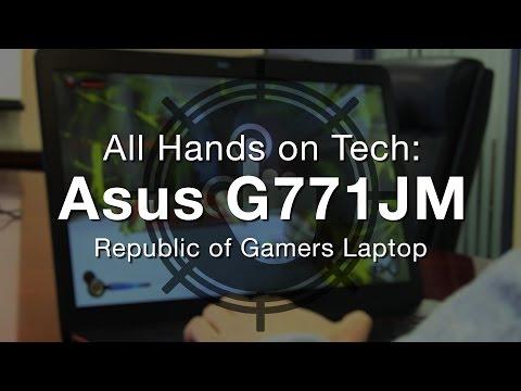 Predstavitev prenosnika ASUS G771JM-T4039D
