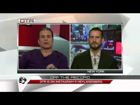 Off - Things get heated during CM Punk's appearance on Off the Record with Michael Landsberg. For more videos like these visit tsn.ca/otr.