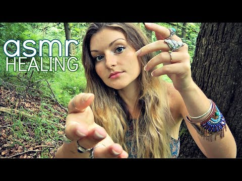 ASMR Forest Healing RP 。○☆*★。・:*:♪ Lemurian Light Language ♪