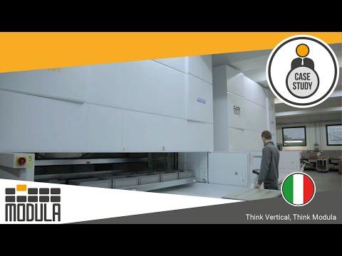 Riorganizzare il magazzino con l'automazione: soluzione di stoccaggio verticale per NR [Italy]