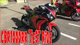 5. My First Ride On A 1000cc Motorcycle (2010 CBR1000rr Test Ride)