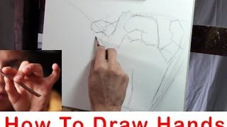 How To Draw and Paint Hands - Matt Abraxas
