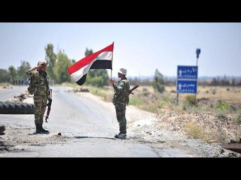 Συρία: Προέλαση του στρατού στην Ντεράα
