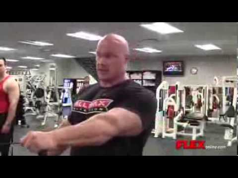 IFBB PRO Ben Pakulski TRAINS SHOULDERS