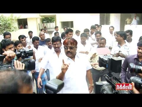 Vijayakanth Tension while Voting - Elections 2014