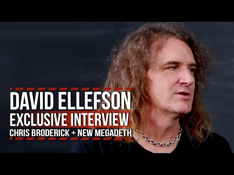 Megadeth's David Ellefson on Chris Broderick's Exit + New Album 'Dystopia'