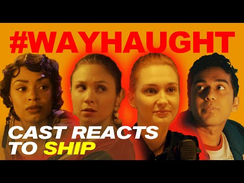 #WAYHAUGHT: Wynonna Earp Cast REACTS TO THE SHIP