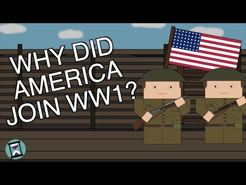 Why did the US Join World War One? (Short Animated Documentary)