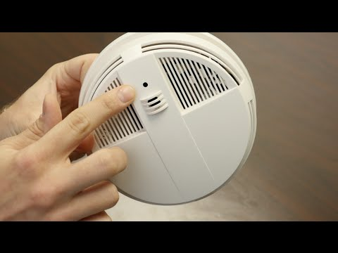 Smoke Detector IP Hidden Camera W/ DVR - Live View Series from GadgetsAndGear.com
