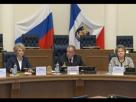 В Правительстве области прошло заседание общественного совета по развитию потребительского рынка