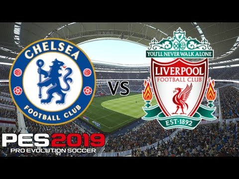 Chelsea Vs Liverpool - Premier League 2018/19 Season - PES 2019