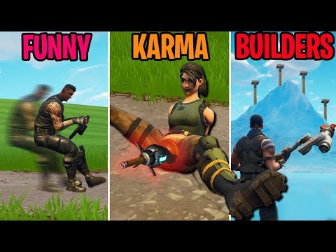 Reddit funny - INVISIBLE ATK?! FUNNY vs KARMA vs BUILDERS - Fortnite Battle Royale Funny Moments